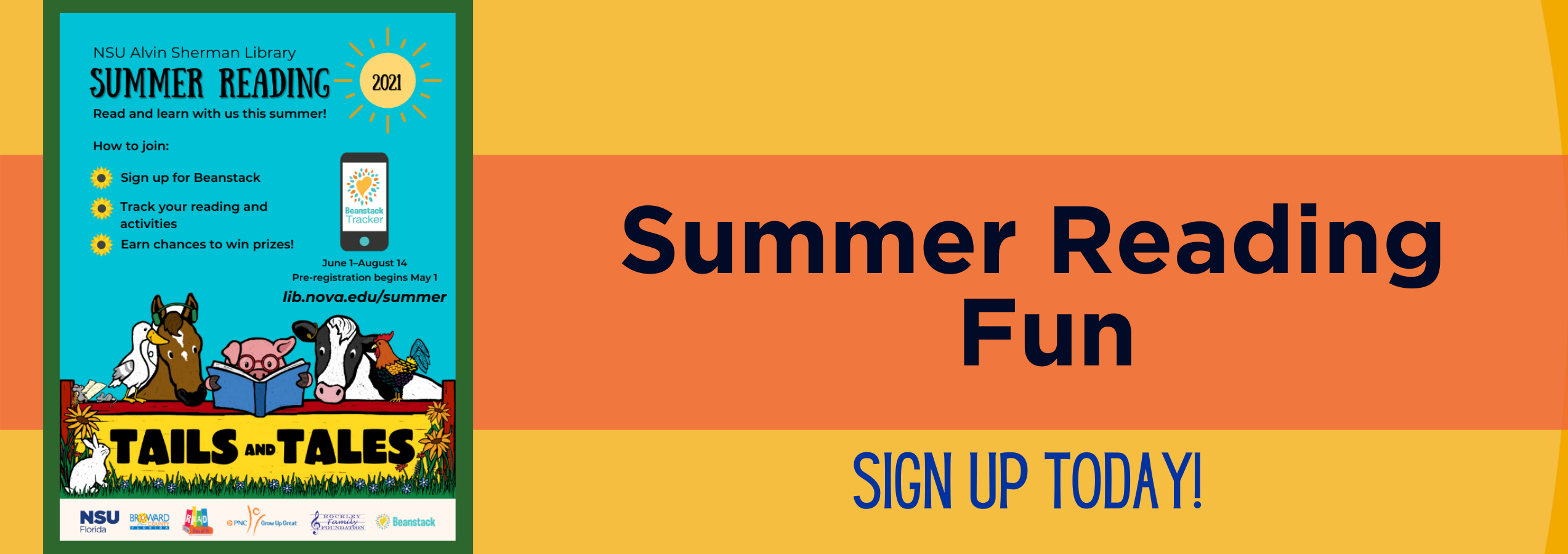 Sign Up/Sign In for Summer Reading
