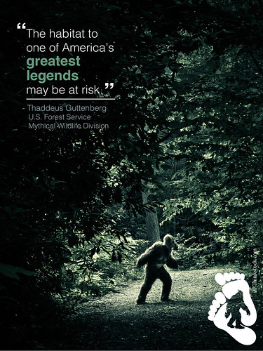 The habitat to one of America's greatest legends may be at risk. Thaddeus Guttenberg u.s.f.s.