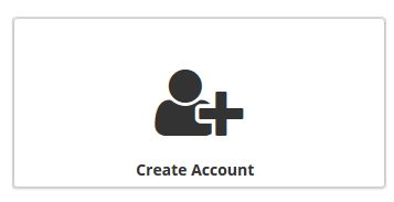 Create Account symbol