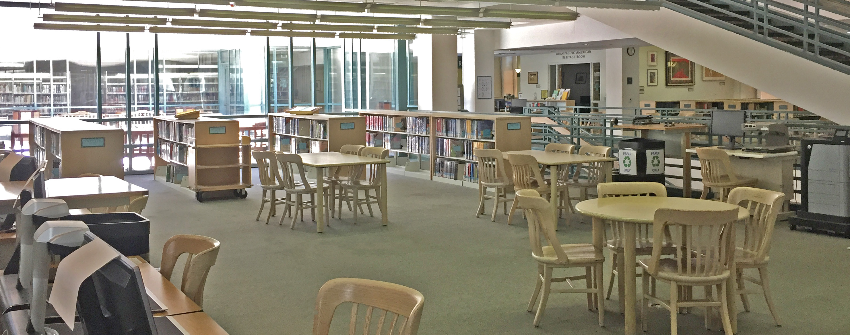 The Textbooks area in the PCC Library