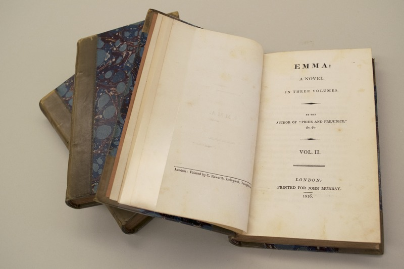 Jane Austen's Emma, 1816 edition