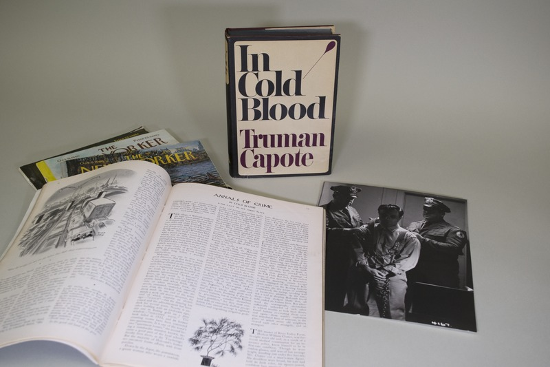 image of Truman Capote's book, In Cold Blood