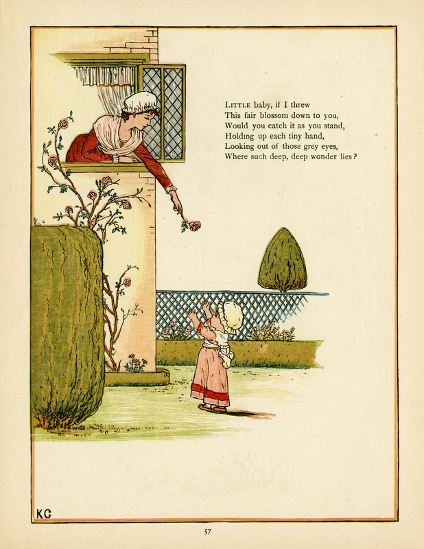 19th century illustration by Kate Greenaway