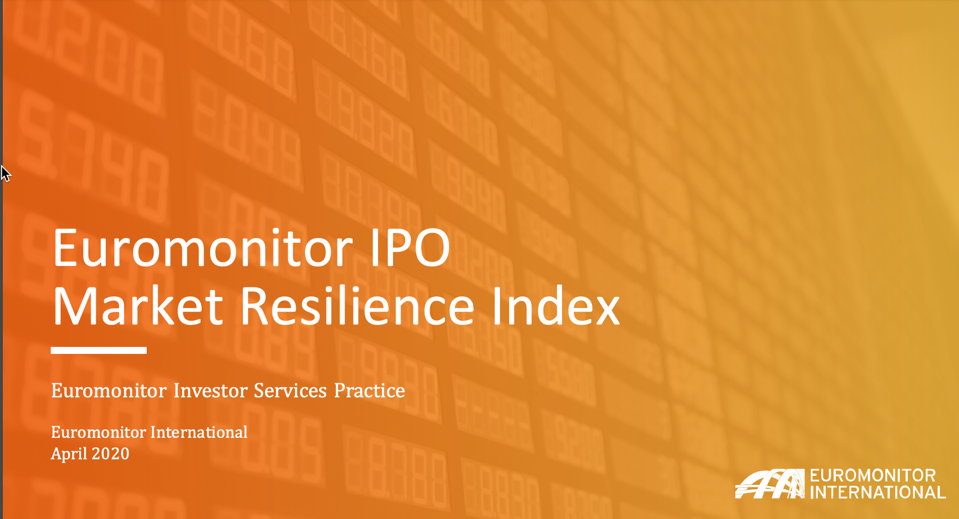 Euromonitor IPO Market Resilience Index