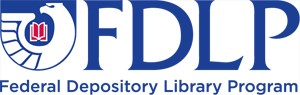 Federal Depository Library Program Eagle Logo with Text