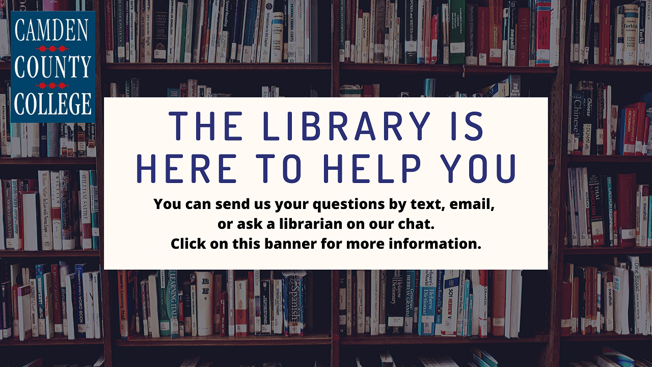 The Library is Here to Help You