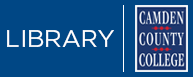 Camden County College Library homepage
