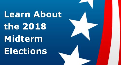 Link to library guide about the 2018 midterm elections