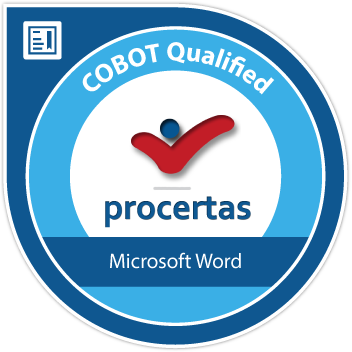 Microsoft Word CABOT Badge