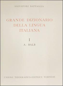 Grande Dizionario della Lingua Italiana