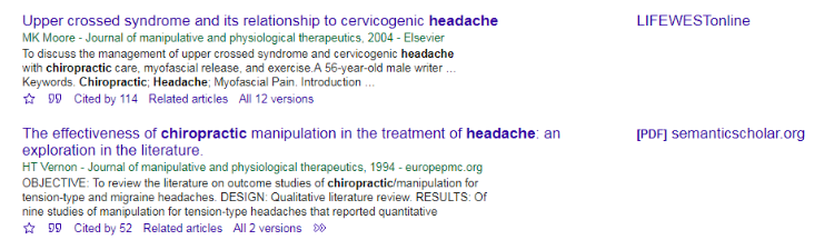 Two citations in Google Scholar; one links to article at Life West