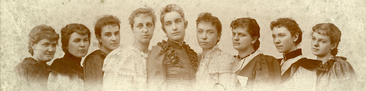granville female college student historic image