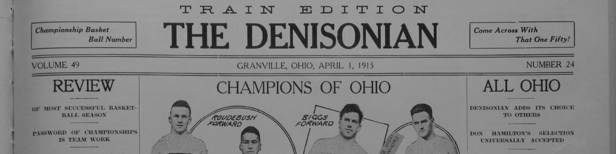 denisonian newspaper historic image