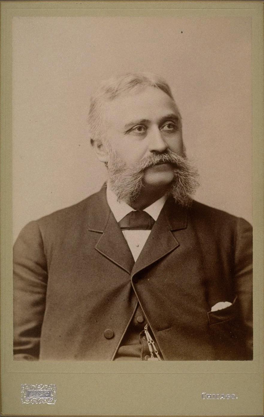 Portrait of Hubert Howe Bancroft