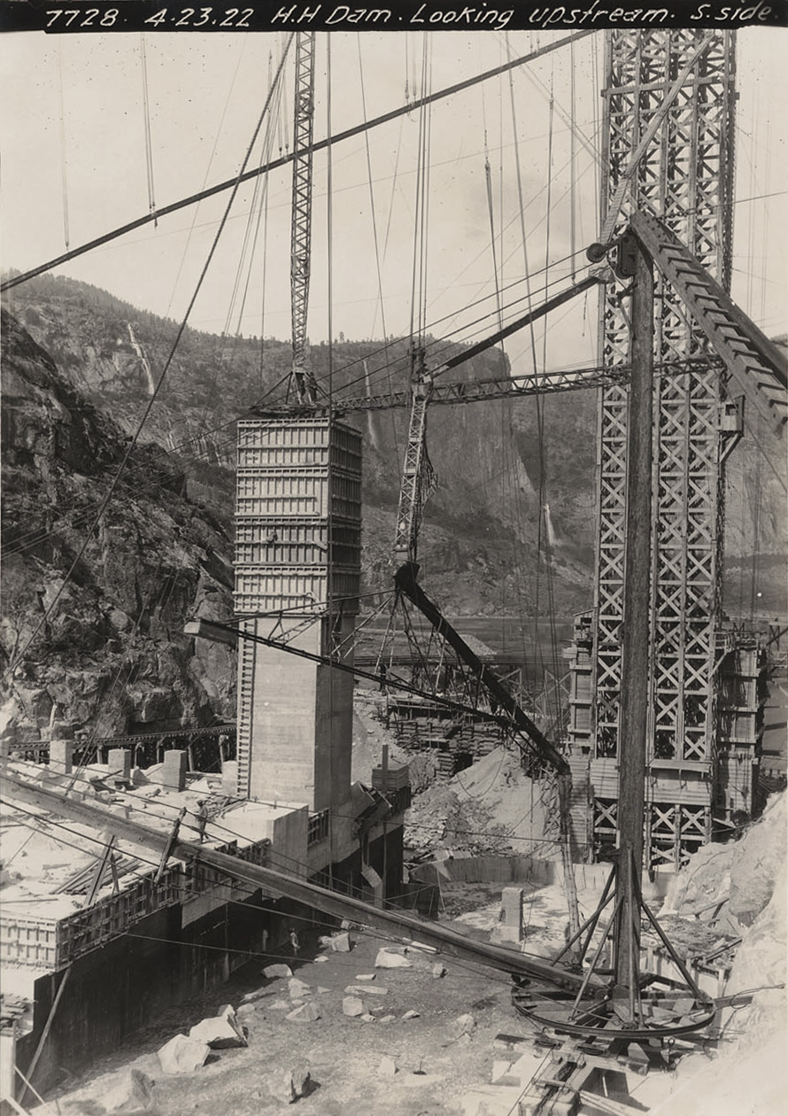 Hetch Hetchy Dam Construction