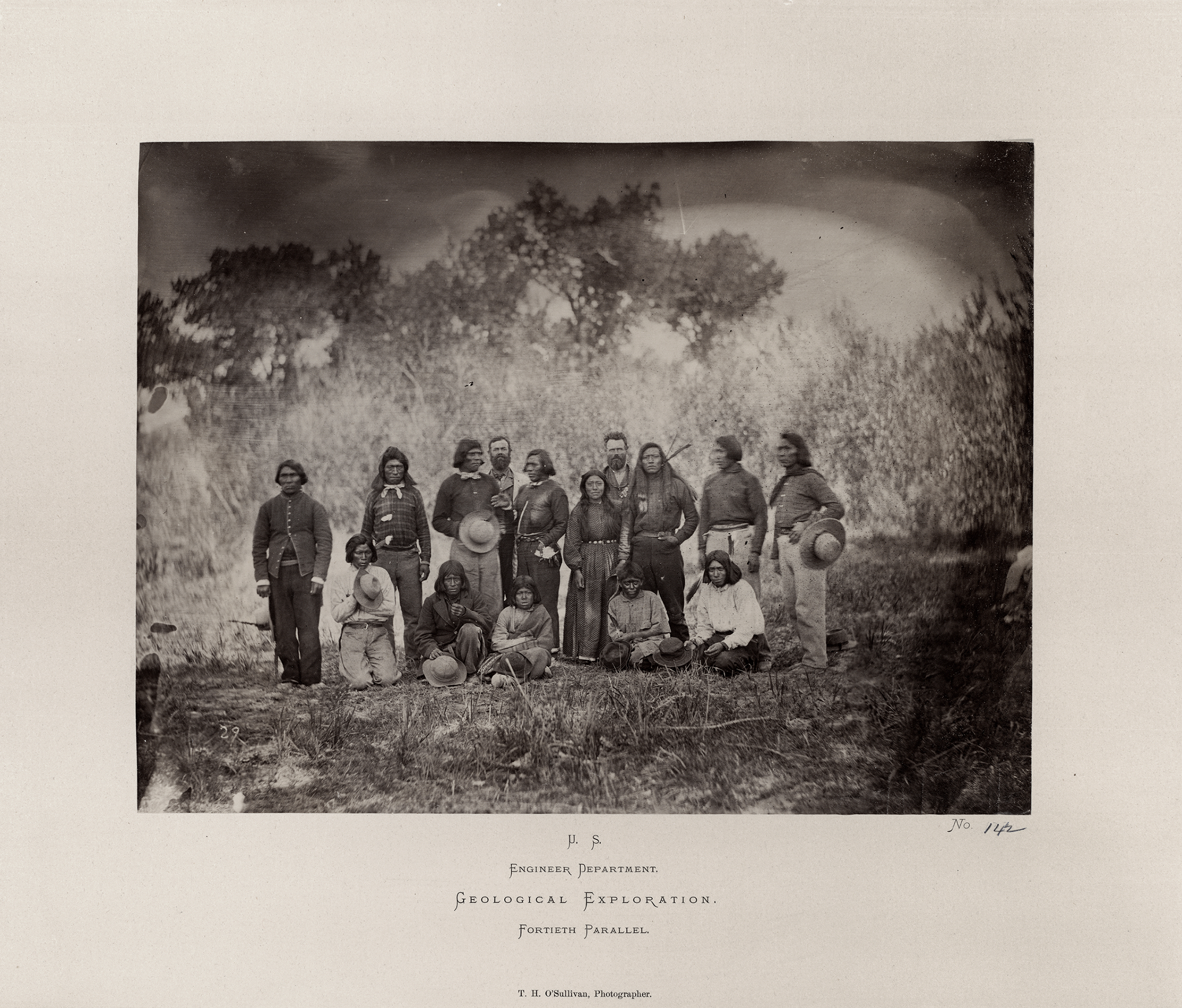 Indians with two expedition members