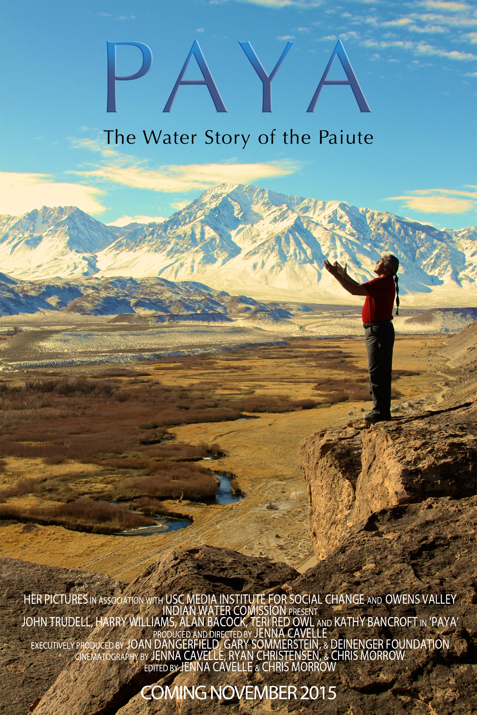 Poster for Paya, The Water Story of the Paiute