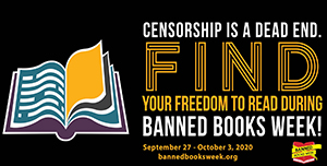 ALA Banned Books 2020 Banner