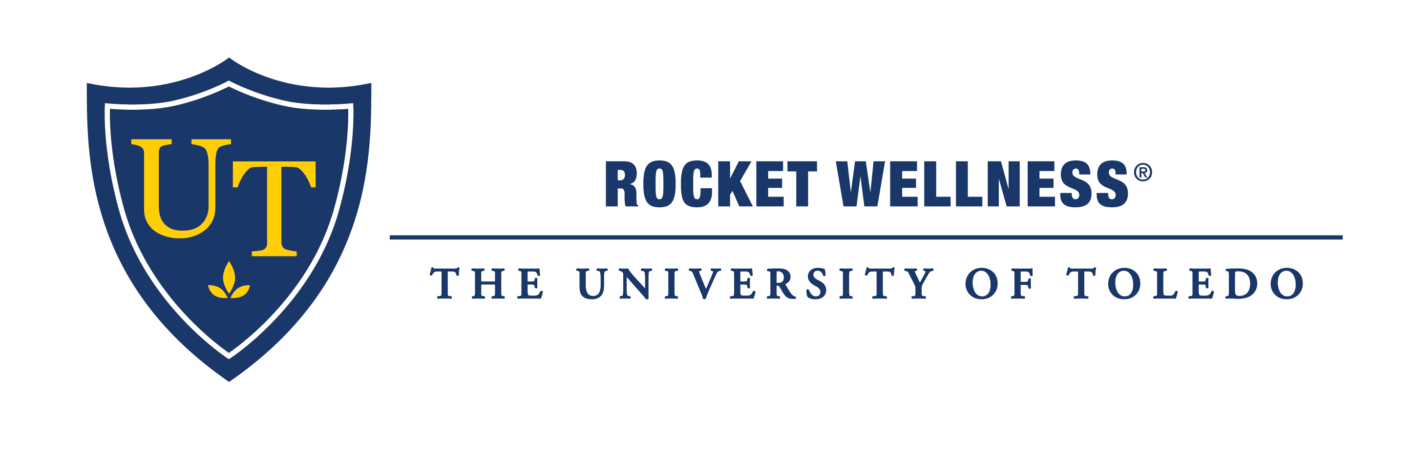 University of Toledo Rocket Wellness Logo
