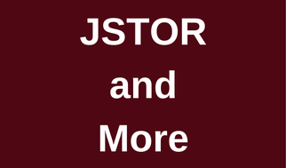 JSTOR and More