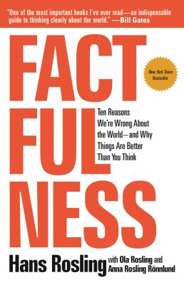 Book cover for Factfulness
