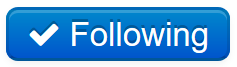 "A blue button with a check mark that reads ""Following"""