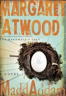 Book cover for MaddAddam
