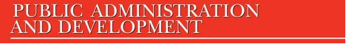 Public Administration and Development journal logo