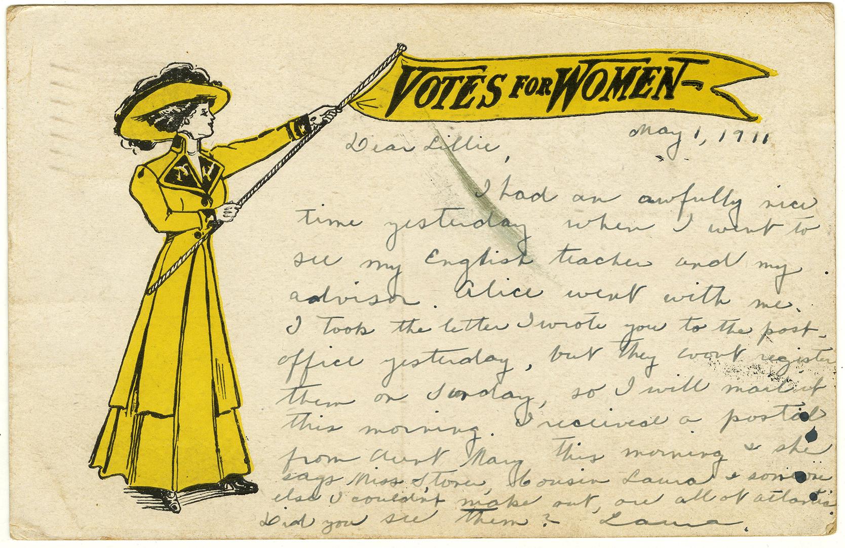 Votes for Women postcard