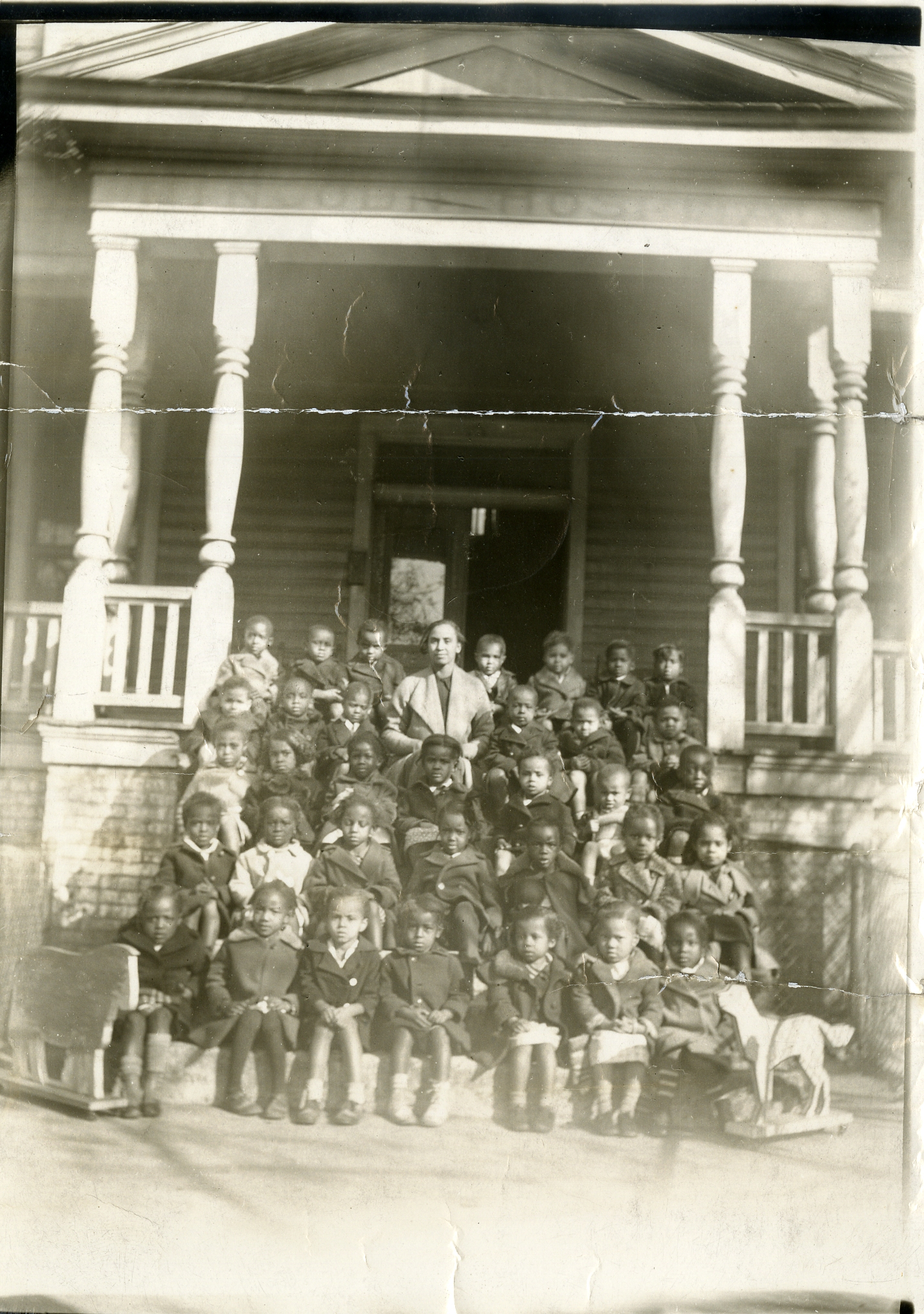 Scarborough Nursery School class photo