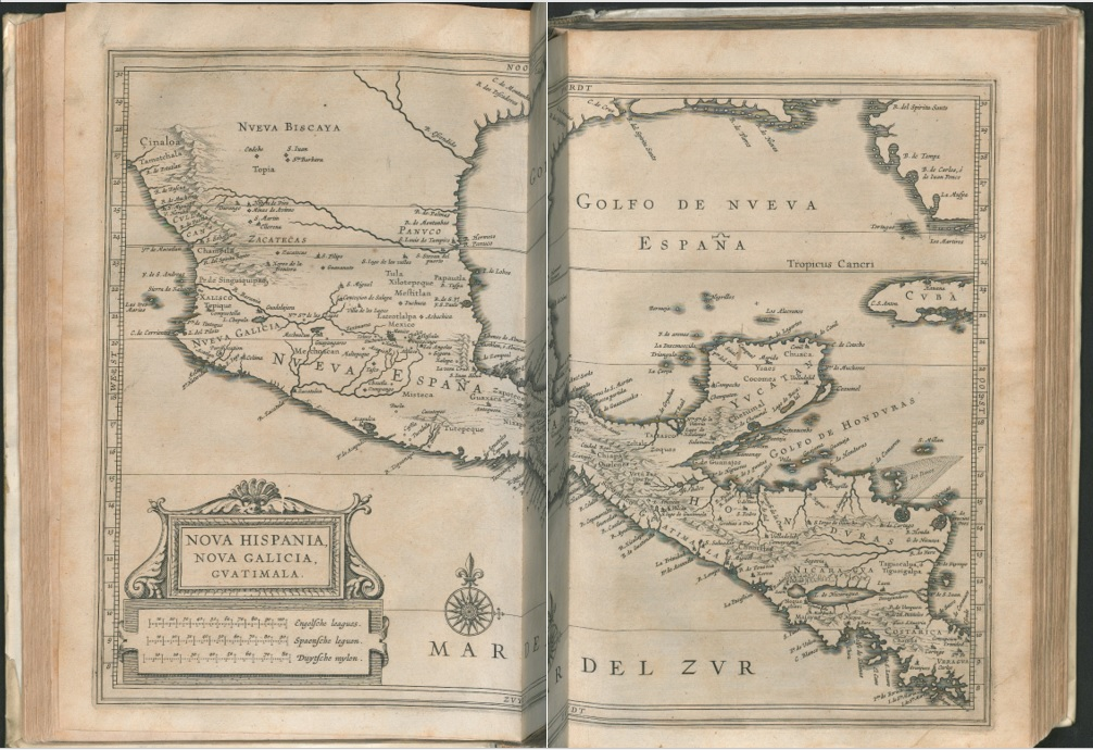 Joannes de Laet History of New World map West Indies