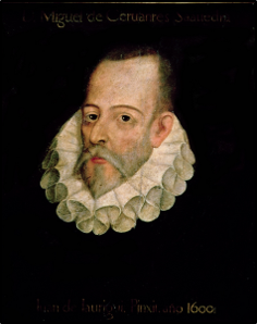 Portrait of M. de Cervantes by El Greco