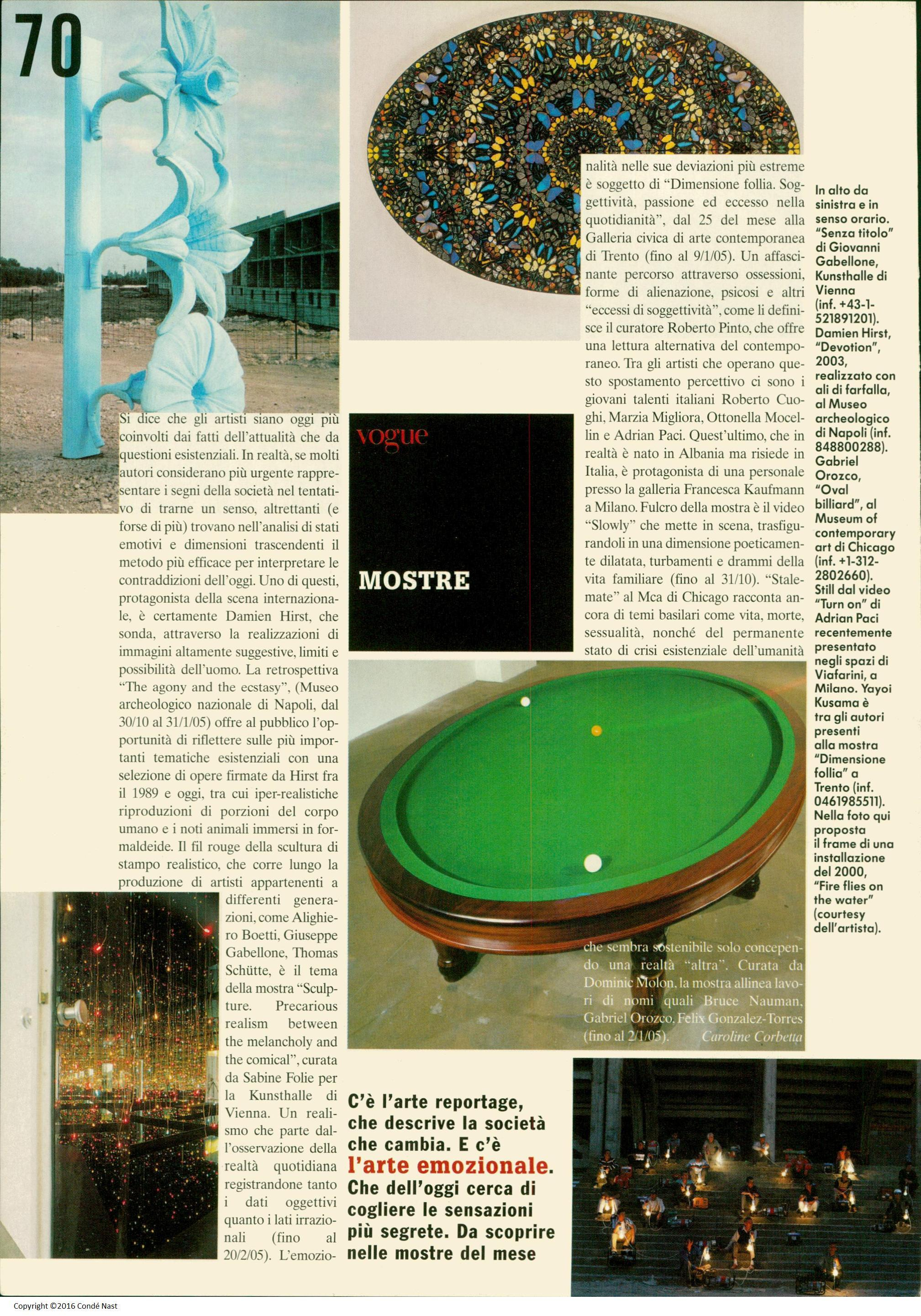 Oct 2004, Arte Emozionale - new trends in art