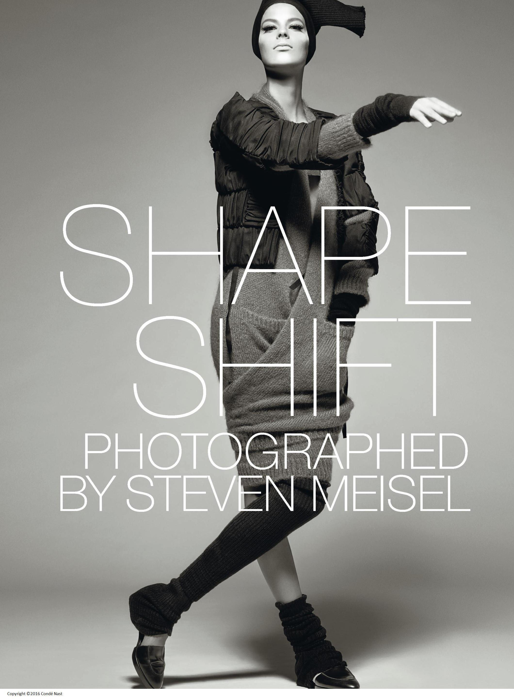 Oct 2014, Shape Shift - Freedom of Style