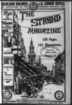 (1903) Cover of the Strand Magazine, showing crowd