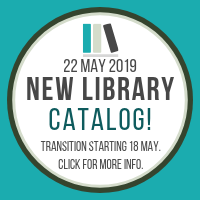 New Library Catalog Info Link
