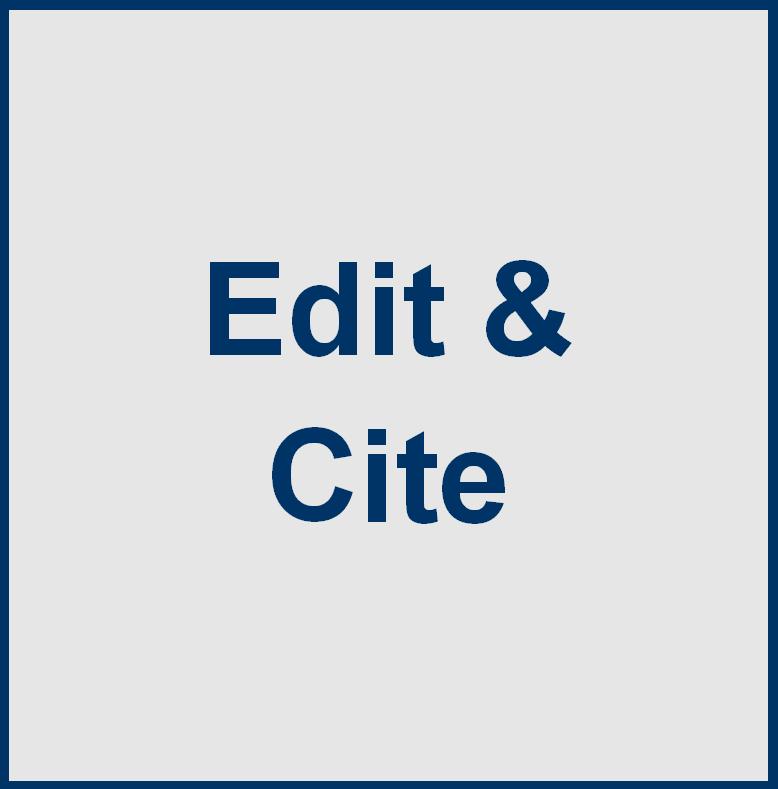 Edit & Cite