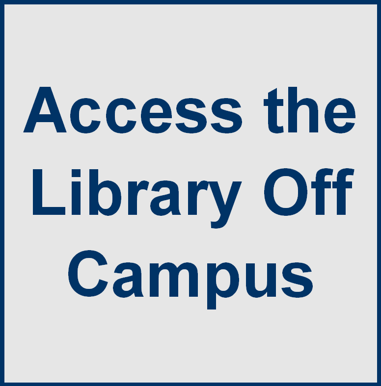 Access the library off campus
