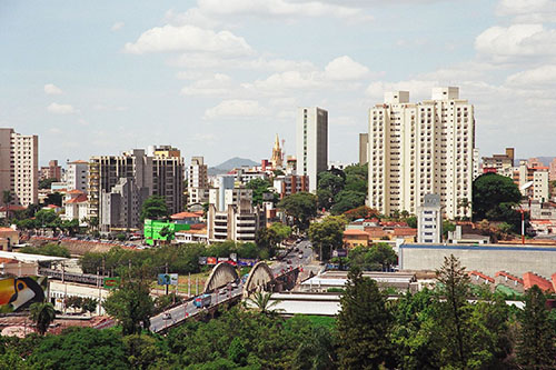 Overview of the city of Belo Horizonte