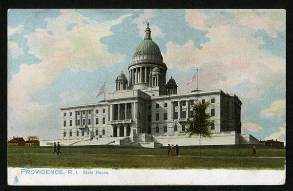 Postcard of Rhode Island State House