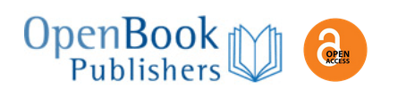 Open Book Publishers icon showing an open book