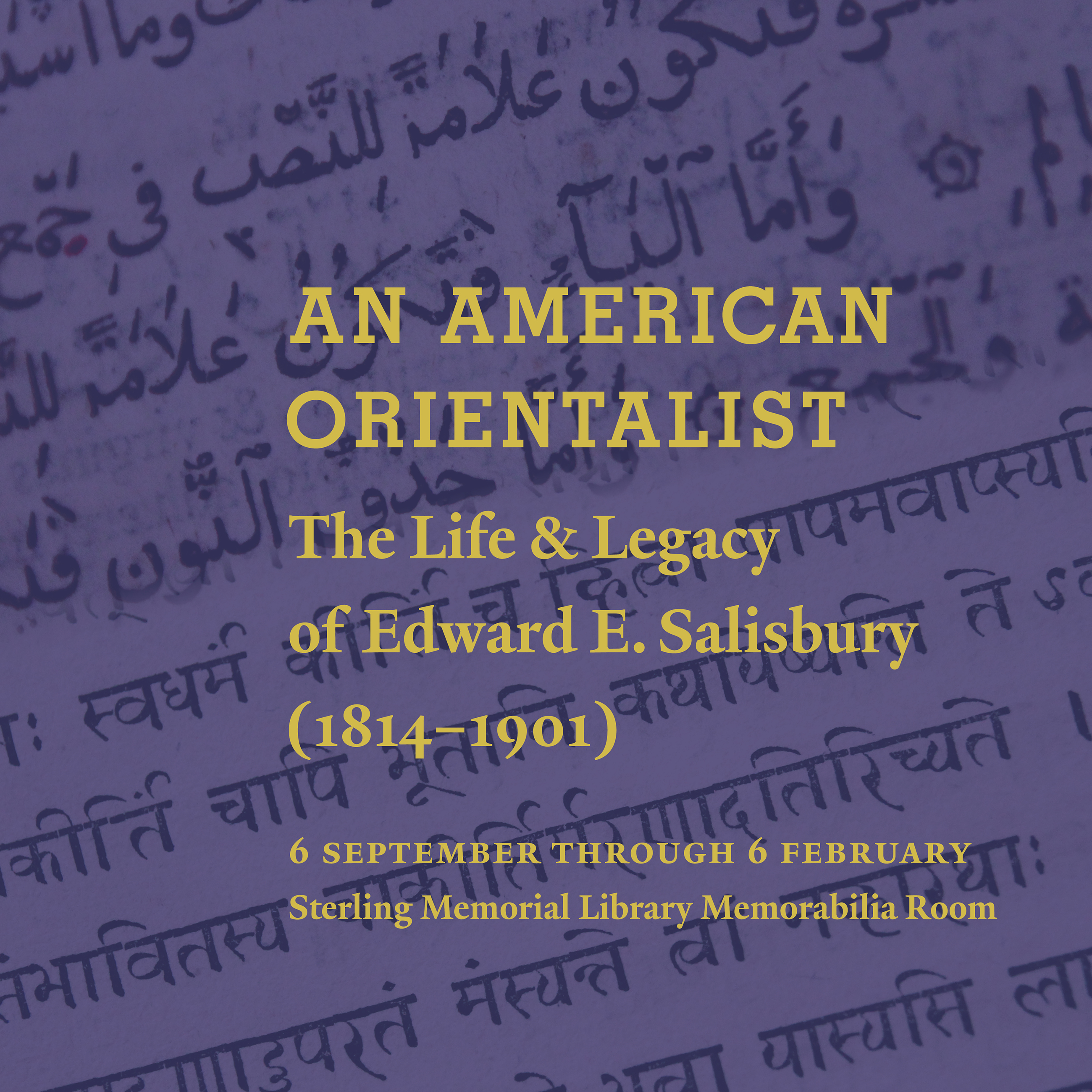 Am American Orientalist promotional image
