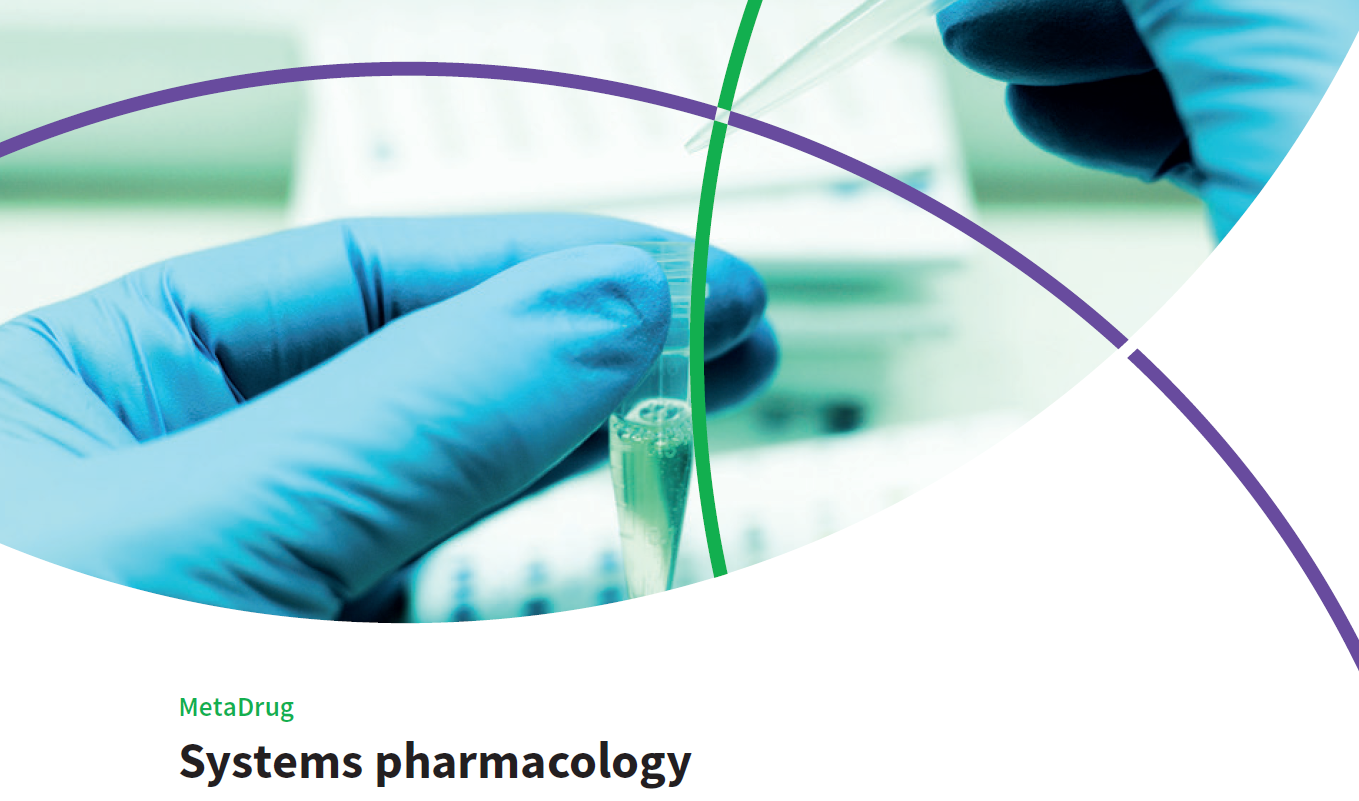 MetaDrug: Systems pharmacology