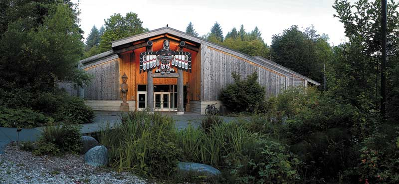 Photo of Evergreen State College Lonhouse