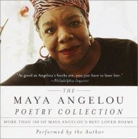 Maya Angelou Poetry Collection CD cover