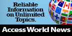 icon for access world news