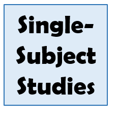 Single-Subject Studies