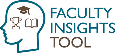 Faculty Insights Tool Logo of Head icon and text