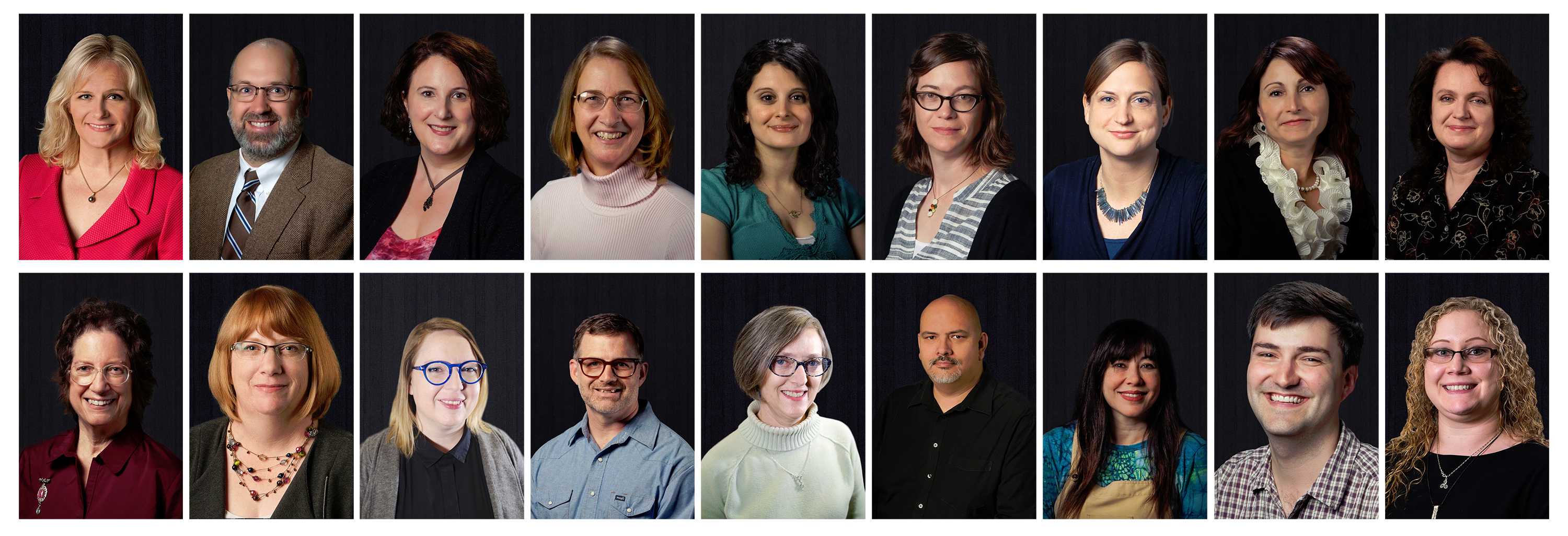 A picture of subject librarians who can help graduate students with research at UNT.