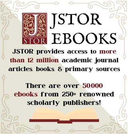 JSTOR Ebook description